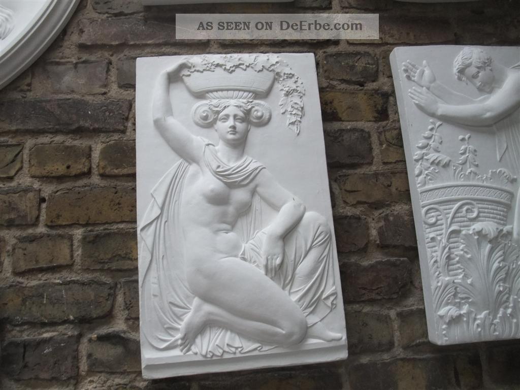 Schinkel Gips Relief Vom Berliner Baumeister Museumskopie SchÖn Deko Top Vor 1900 Bild