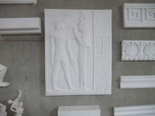 AltÄgyptisches Relief Supraduro Alabastergips SchÖn Deko Bild