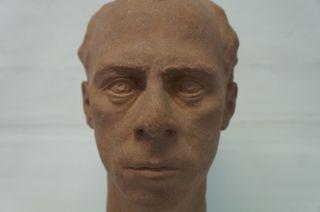Kopf Eines Mannes - Man Head Sculpture - Skulptur - Bildhauer - Signiert Bild
