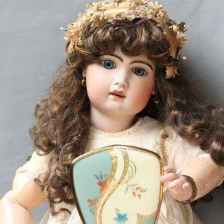 Antike Tete Jumeau Diplome D´honneur Porzellan Puppe 1890 86 Cm Antique Dolll Bild