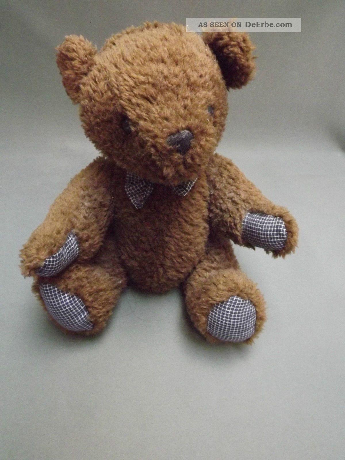 Alter Teddybär,  Braun,  32cm,  Antik?,  Sammlungsauflösung (952) Stofftiere & Teddybären Bild