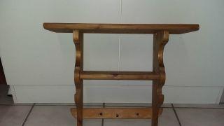 Altes Wandregal Küchenregal Aus Holz Bild