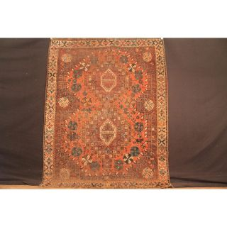 Antiker Handgeknüpft Orient Sammler Teppich Gash Gai Shirwan Kazak Tapis Carpet Bild