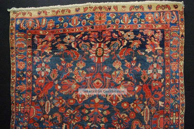 Antiker Sarough Teppich Tappeto Tapis Rug Ca:190x135cm Teppiche & Flachgewebe Bild