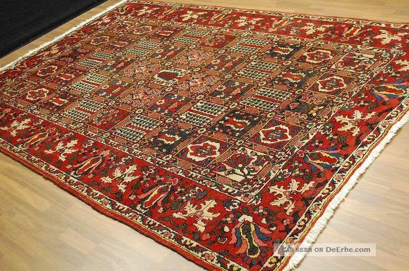 Antikerteppich Ca:305x220cm Antique Rug Tappeto Tapis Teppiche & Flachgewebe Bild