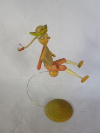 Erzgebirge Kwo Wilhelm Busch Filigrane Miniatur Figur Münchhausen Expertic Bild