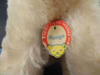Steiff Affe - Buntaffe Mungo Mit Schild Bild