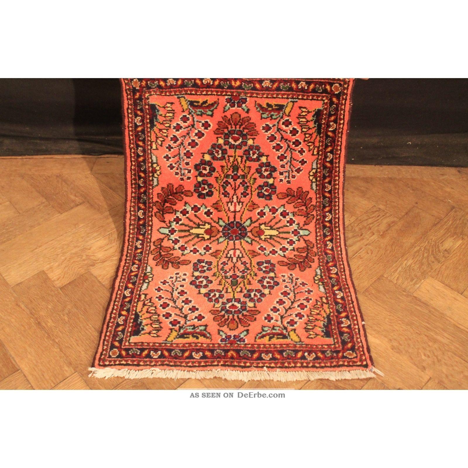 Fein Handgeknüpft Blumen Perser Teppich Re Import Us Sarug Carpet Tappeto Tapis Teppiche & Flachgewebe Bild