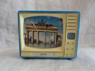 Plastiskop Gucki Fernseher Berlin Bild