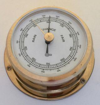 Altes Kleines Schiffs Barometer Von Barigo Bild