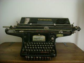 1 Continental Wanderer - Werke - Ag.  Chemnitz Buchhaltungsschreibmaschiene RaritÄt Bild