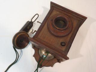 Historisches Telefon Siemens & Halske Um 1900 Bild
