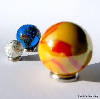Lunar Solar Eclipse Globus Marmor Sammlung Sonne,  Erde & Mond - Astronomie Bild