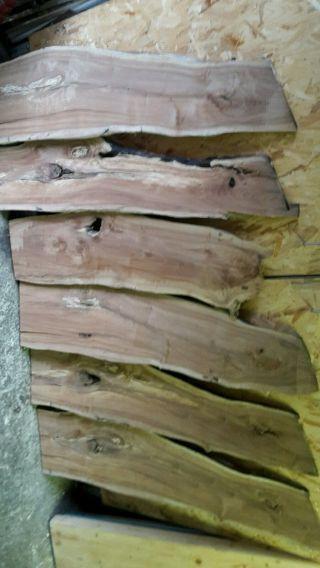 Apfelbaum Holz Bastleholz Drechselholz Bild