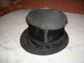 Alter Zylinder Chapeau Claque - Welt - Klapphut Best Marke 1900 Bild