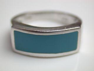 Ring Mit Türkis Silber 925 Italien Bild