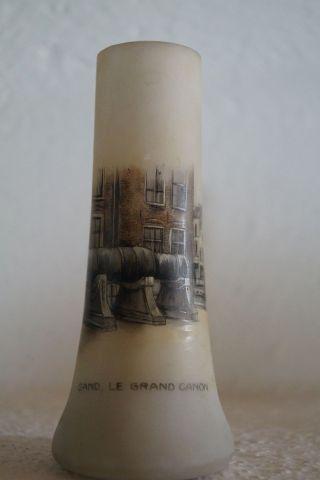 Andenkenglas Sammelglas Le Grand Canon Gant Frankreich 1.  Weltkrieg Bild