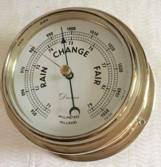Altes Schiffsbarometer Barometer Devina Bild