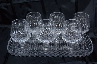 6 Schott/ Zwiesel Volterra CognacglÄser Mit Tablett Kristall,  A 142 Bild