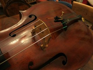 Altes Violoncello Von 1800 // Old Cello 1800 Bild