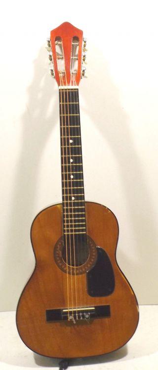 Kleine Play & Learn Gitarre Hersteller Unbekannt - Restaurationsobjekt - Deko Bild