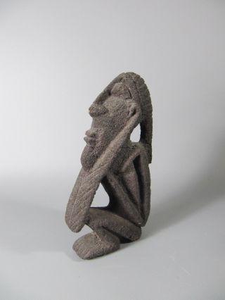 Alte Afrikanische Stein Figur - Old African Figur From Stone Bild