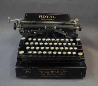 Typewriter / Schreibmaschine,  Royal Standard