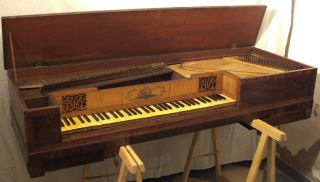 Tafelklavier W.  Howards,  London Ca.  1810 (klavier Fortepiano Cembalo Pianoforte) Bild
