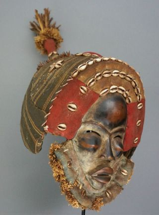 Dan Mask,  Ivorycoast - Dan Maske,  Elfenbeinküste Bild