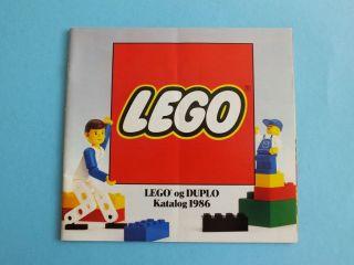Lego Duplo Katalog 1986 In Dänischer Sprache 36 Seiten Bild