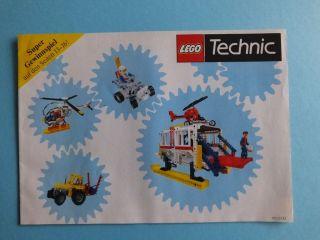 1986 Lego Technic Prospekt Programm Katalog Bild