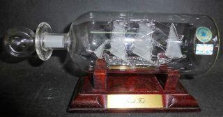 Mayflower Glass - Flaschenschiff - Buddelschiff - Schiff - Gorch Fock Bild