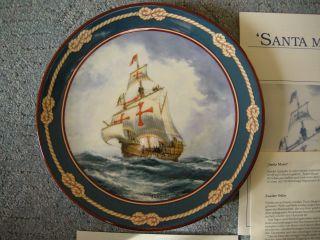 Royal Doulton Sammelteller Santa Maria Bentham - Dinsdale 26 - R62 - 26.  2 Bild