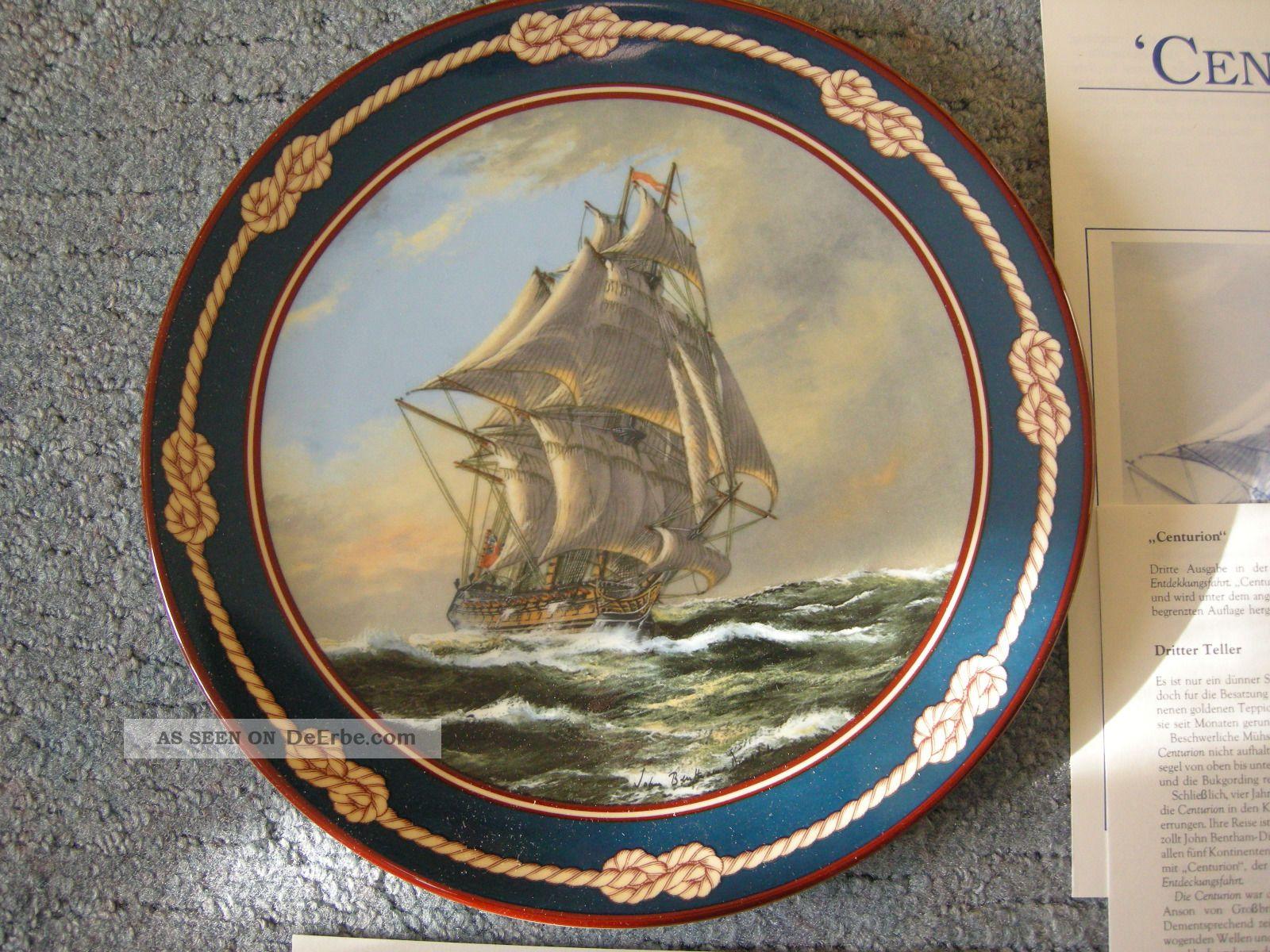 Royal Doulton Sammelteller Centurion Bentham - Dinsdale 26 - R62 - 26.  3 Nautika & Maritimes Bild