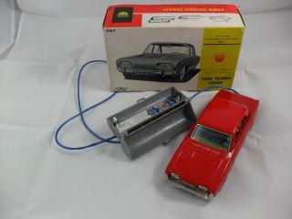 Ford Taunus Sedan Rot,  Bandai (987),  Japan - Gebr.  Ovp,  Eingeschr.  Funktion Bild