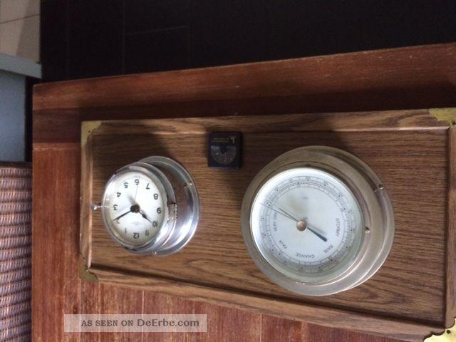 Wempe Glasenuhr Und Barometer Technik & Instrumente Bild