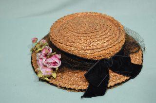 Sehr Alter Damen Hut - Wahrscheinlich Um 1910 - Bild