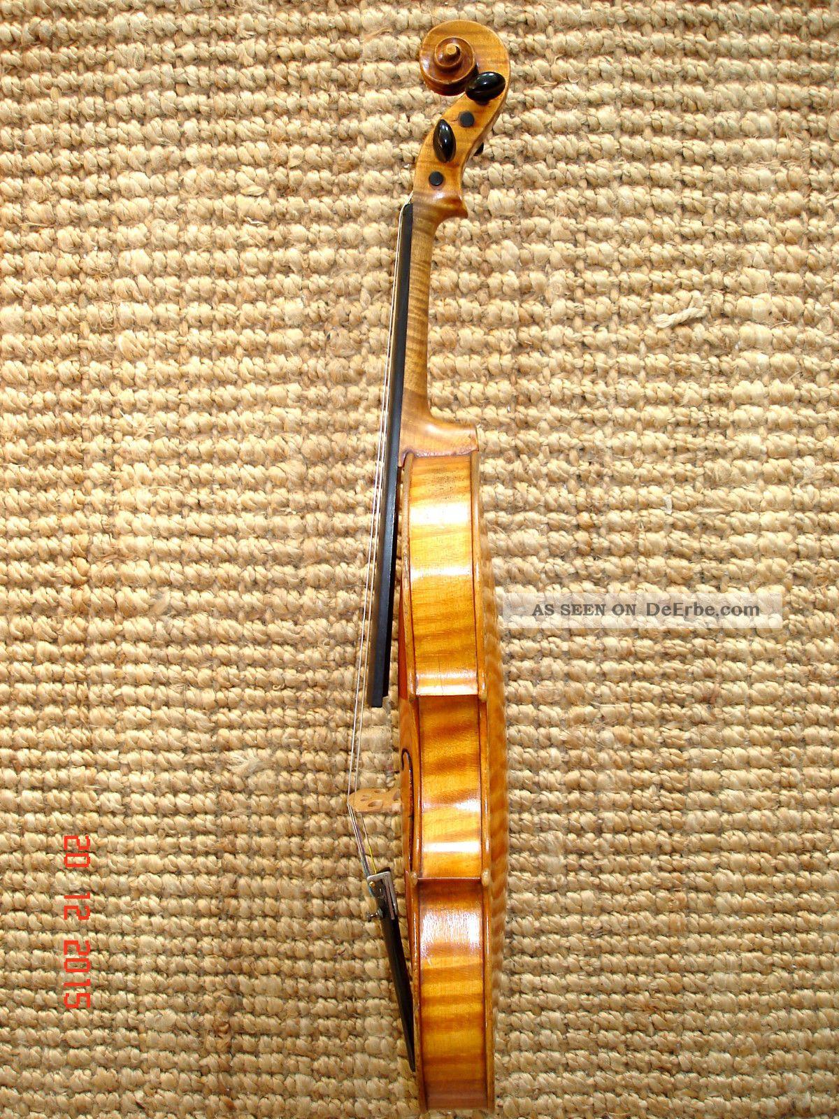 4/4 Violine Geige Carl Gottlob Schuster Jun.  Brandst.  Klang Sofort Spielb. Musikinstrumente Bild