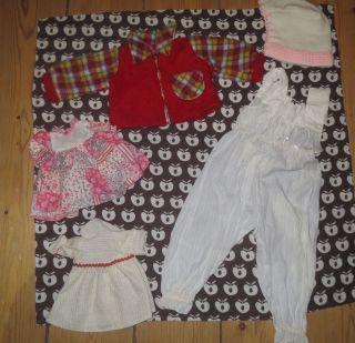 Konvolut Alte Puppenkleidung Vintage,  Retro,  80er Bild