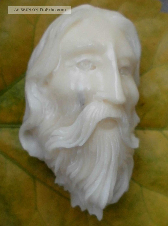 Portrait,  Geschnitzt Aus Tagua - Nuss Beinarbeiten Bild