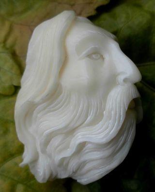Portrait,  Geschnitzt Aus Tagua - Nuss Bild