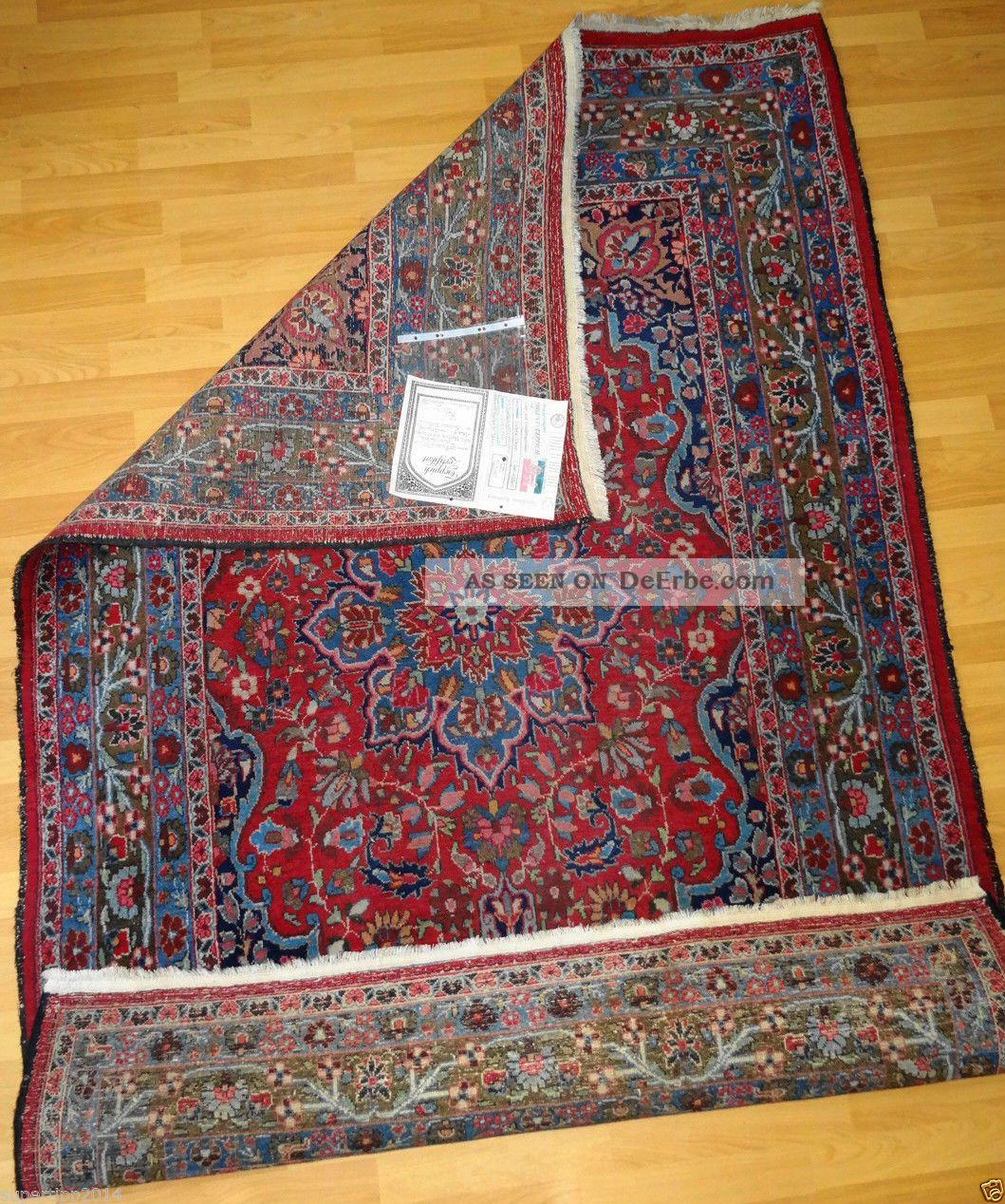 Echte Handgeknüpfte - Perser - Teppichtop/ware - Rug - Tappeto - Tapis - Rug,  Antik/ Antico Teppiche & Flachgewebe Bild