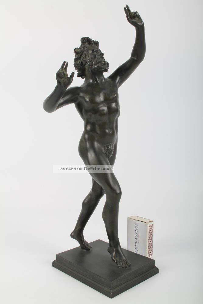 Große Bronze Figur Der Antike