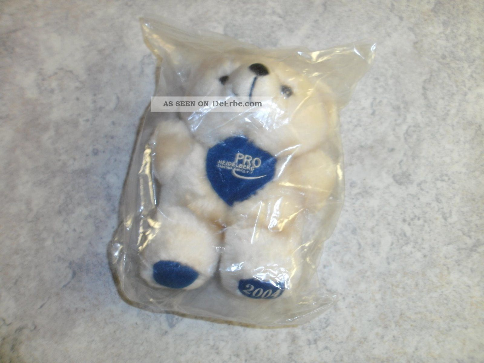 Teddybär Teddy Bär Pro Heidelberg Heidelbär Jahr 2004 Sammler Sammeln Selten Stofftiere & Teddybären Bild