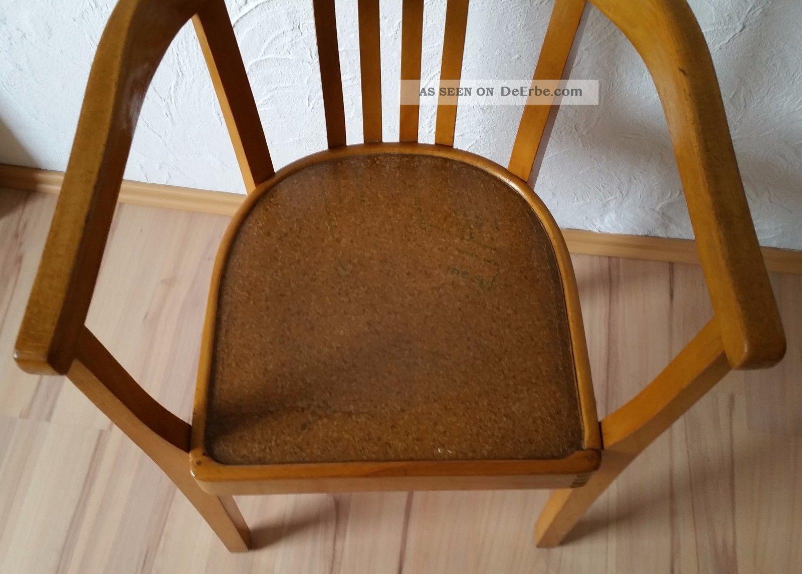 armlehnstuhl holzstuhl bauhaus art deco cropius stil. Black Bedroom Furniture Sets. Home Design Ideas