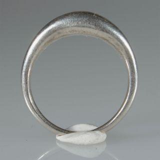 8919 Tuareg Ring Aus Massive Silber Agadez Niger Touareg Bild