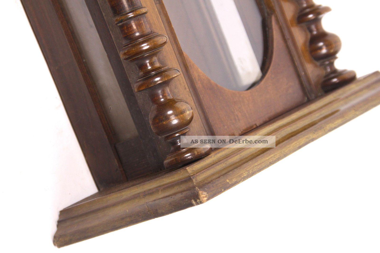 wanduhr holz glas inspirierendes design f r. Black Bedroom Furniture Sets. Home Design Ideas