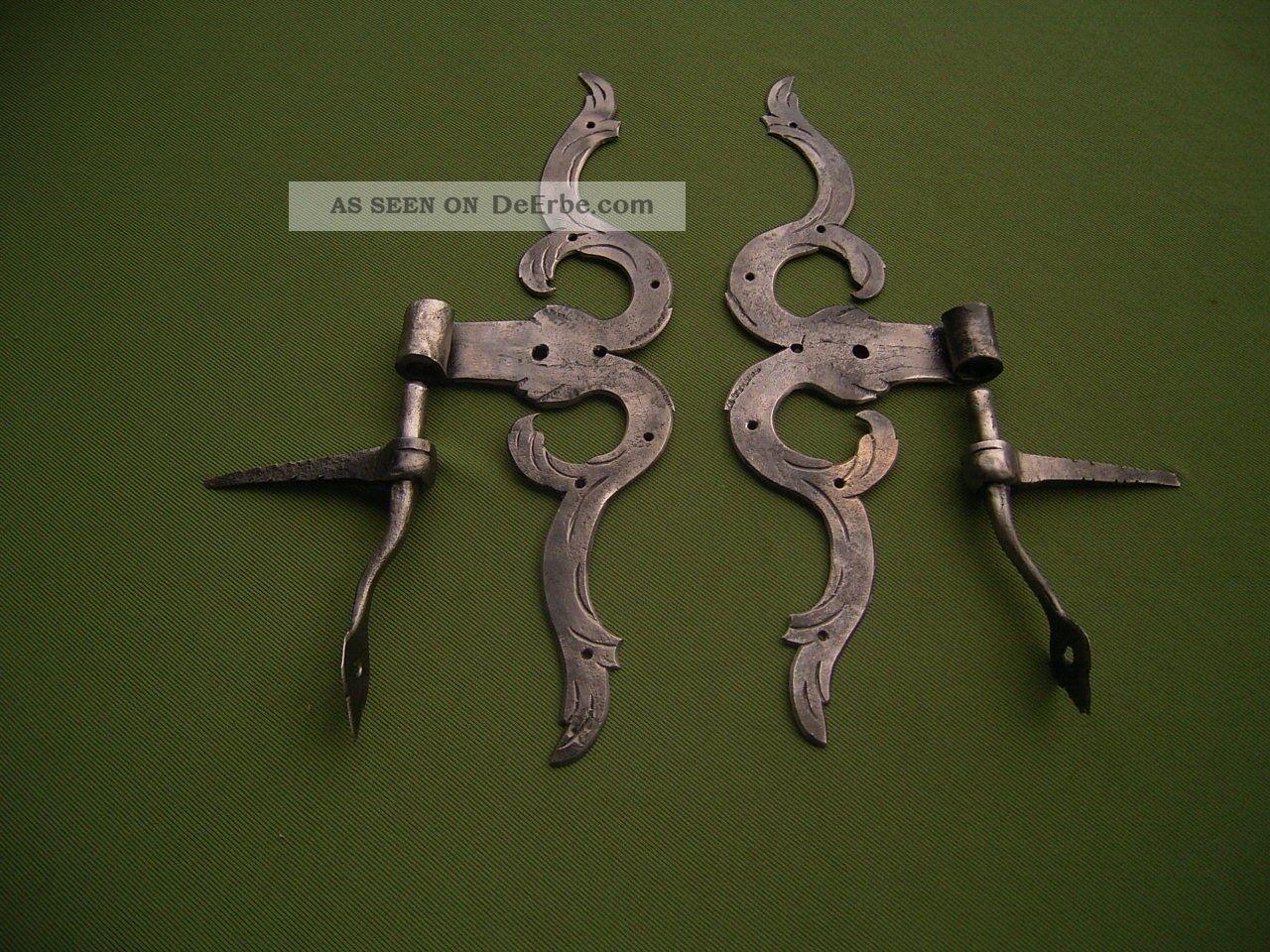 Antike Türbänder A.  D.  Barock Um 1700 Original, vor 1960 gefertigt Bild