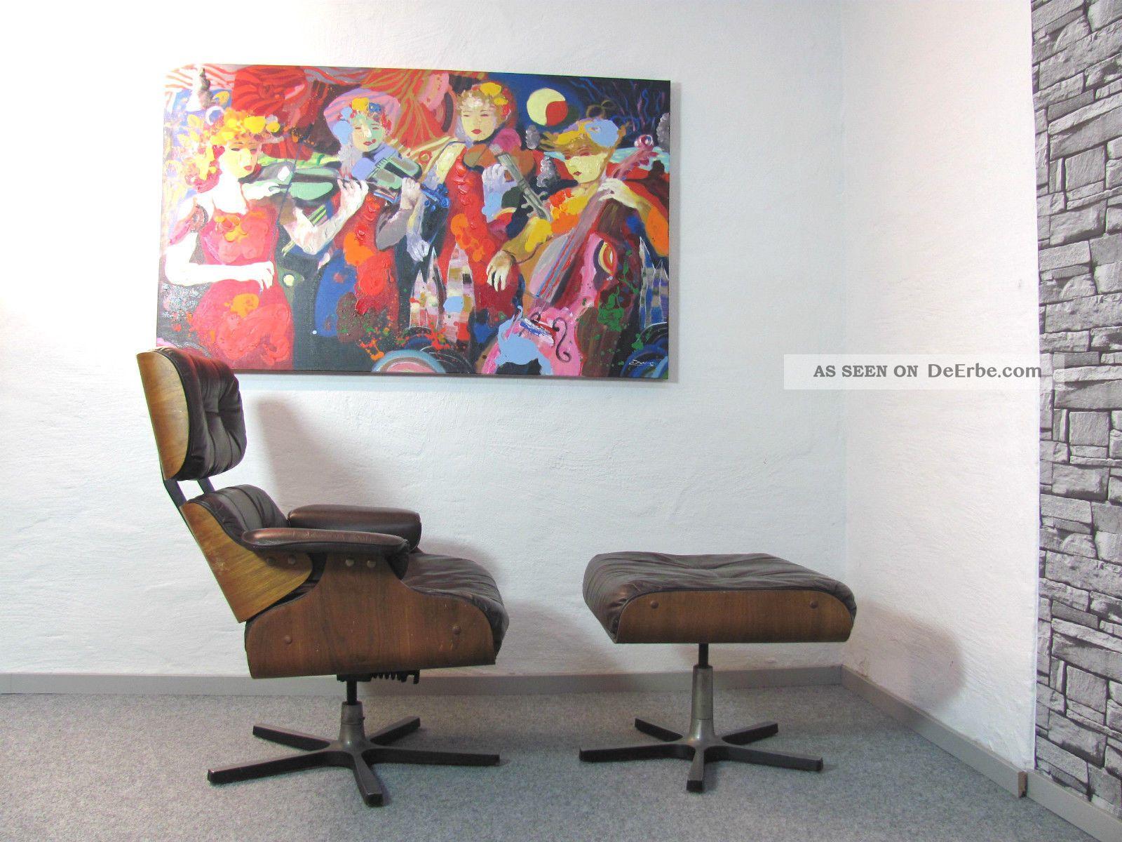 lounge chair aus den 60er jahren hersteller unbekannt. Black Bedroom Furniture Sets. Home Design Ideas