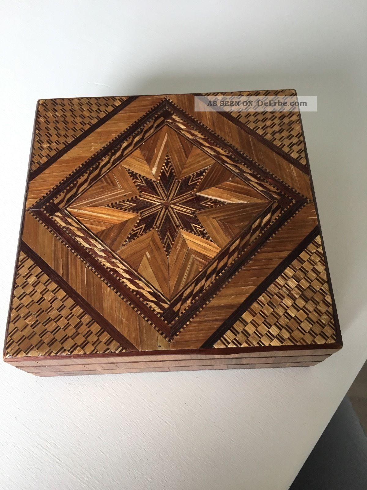 Schöne Kiste Aus Holz Holzarbeiten Bild